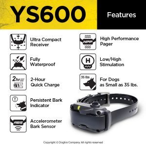 Dogtra YS600 bark control collar